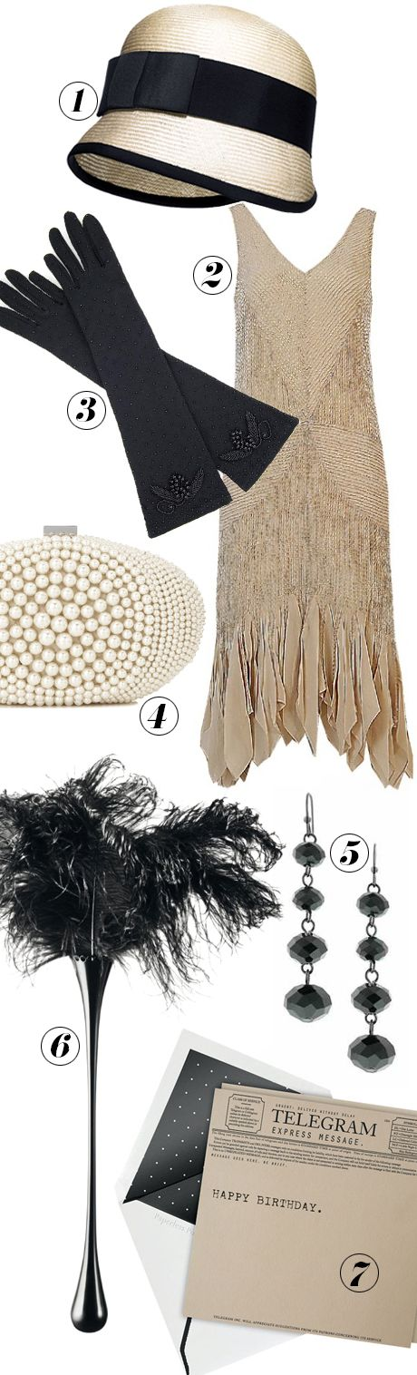 mood board - for the next Great Gatsby fancy dress!!