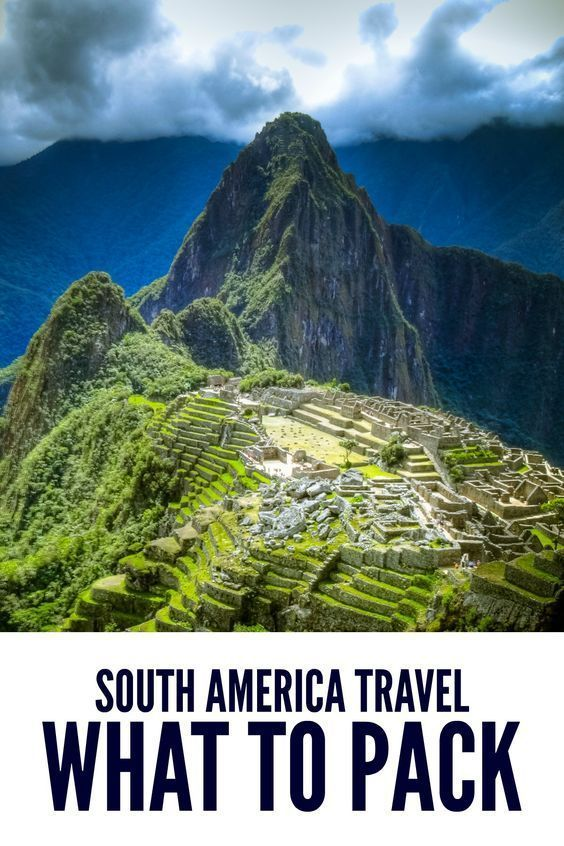 The ultimate packing list. Learn what I packed for backpacking South America. I share what I used and what I should have left home.