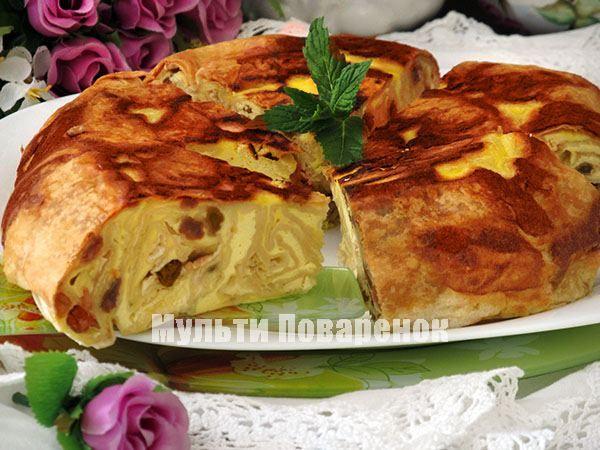 Баница: рецепт болгарского пирога с творогом в мультиварке