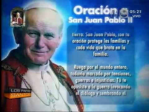 América Noticias - 270414 - Oración a San Juan Pablo II