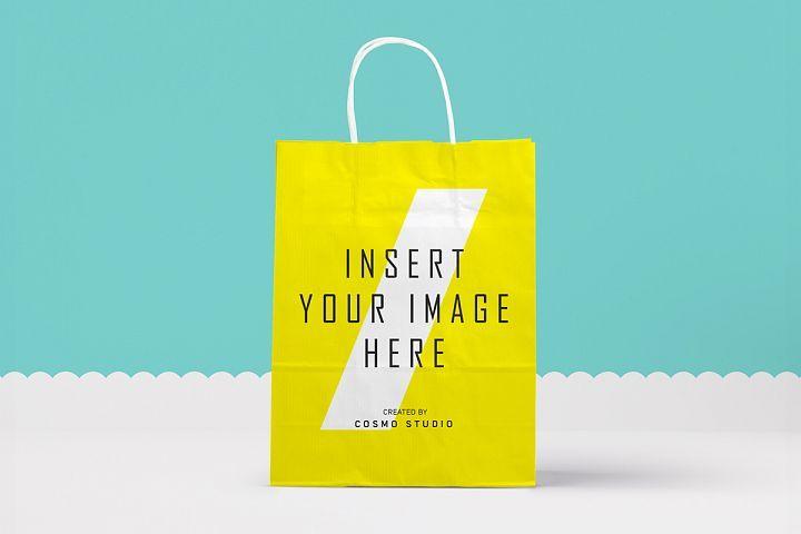 Download Paper Bags Mockups Vol 2 Cairographs Tools And Elements Mock Ups Bag Mockup Mockup Design Design Bundles