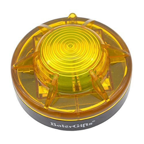 BolerGifts Road Flares Roadside Flashing Emergency LED Lights Beacon with Magnetic Base for Car and Outdoor Sports (yellow). For product & price info go to:  https://all4hiking.com/products/bolergifts-road-flares-roadside-flashing-emergency-led-lights-beacon-with-magnetic-base-for-car-and-outdoor-sports-yellow/