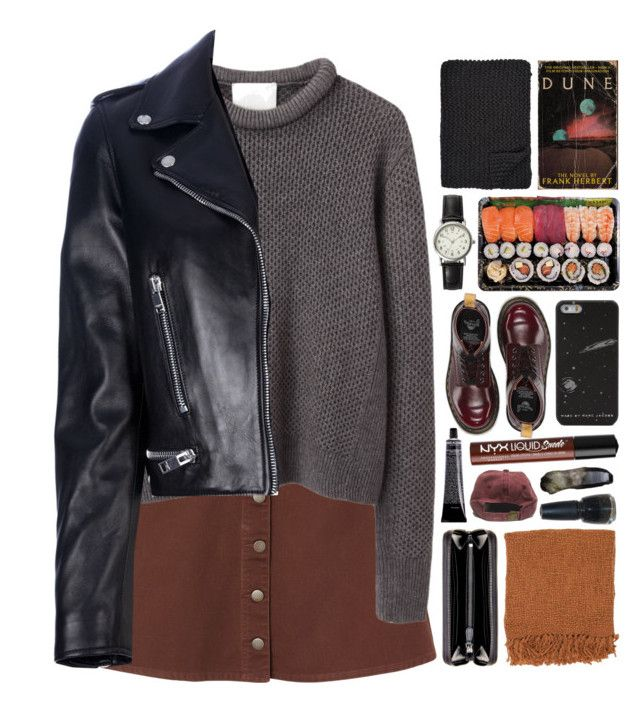 """1473"" by anastaziah2014 ❤ liked on Polyvore featuring FOSSIL, Dr. Martens, Bottega Veneta, Glaze, Alicia Adams, Surya, NYX, Monki, 3.1 Phillip Lim and Yves Saint Laurent"