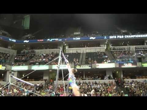 Bailie Key – Uneven Bars – 2015 P&G Championships – Sr. Women Day 1 - YouTube