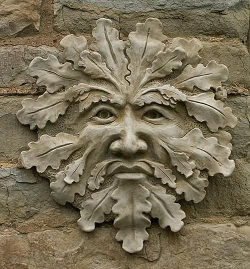 Ideas about green man on pinterest chainsaw