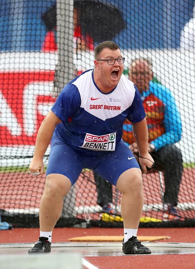 Chris Bennett - Athletics. Hammer.