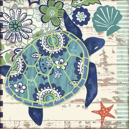 Oceania-Sea Turtle by Jennifer Brinley | Ruth Levison Design