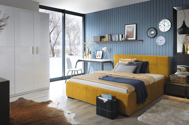 Meble do sypialni – Łóżko #TwojeMeble #TwojeŁóżko #CARLET #BRWsofa