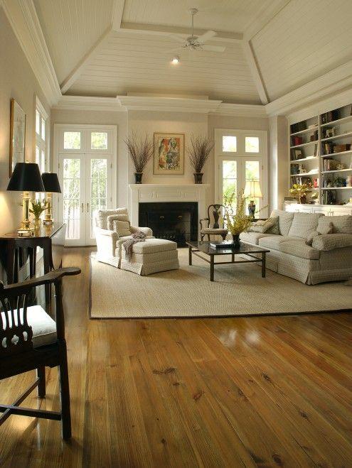 Heart Pine Living Room