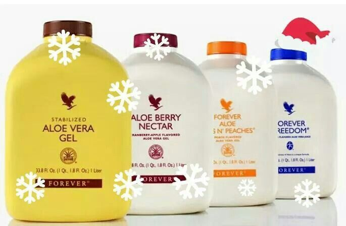 Enjoy the benefits of Aloe Vera in four healthy varieties of fresh, stabilized aloe vera gel - Aloe Vera Gel, Aloe Berry Nectar, Forever Bits n' Peaches and Forever Freedom. The primary ingredient of all four varieties is pure Aloe Vera fillet gel from the center of the leaf.