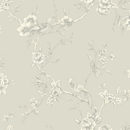 Opera chinoise wallpaper taupe at homebase stuff to for Wallpaper homebase grey
