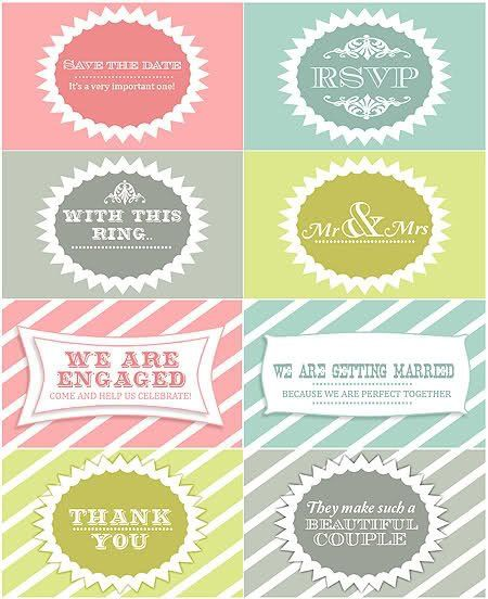 The 25+ best Free wedding favor printables ideas on Pinterest ...