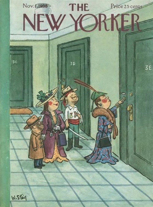 New yorker dress for the moment halloween pictures