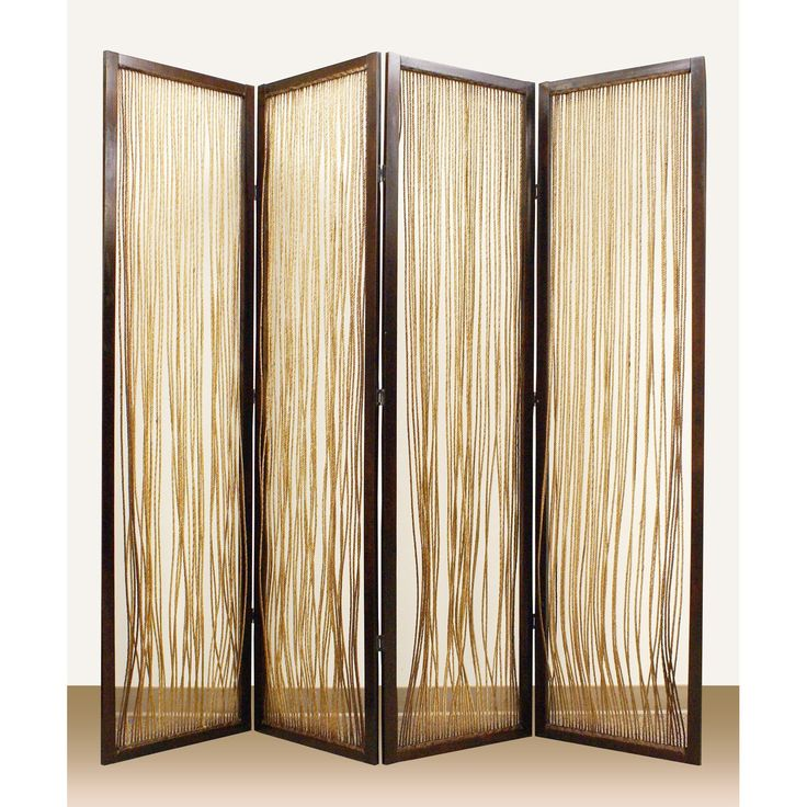 Screen Gems Lahaina 4 Panel Room Divider   $618.99 @