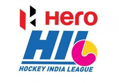 Find all six participating teams KL, RR, DWR, JPW, DM and UPW's standing and position in the points table of 2015 hero hockey India league (HHIL).