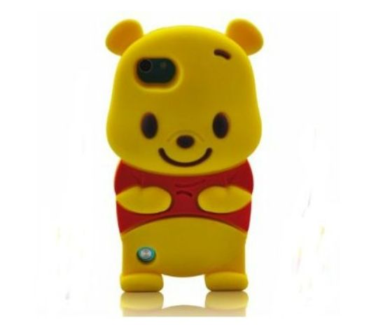 Cartoon Bear iPod touch 6 Cases3D characters Soft Silicone Case for iPod touch 6 6th Generation