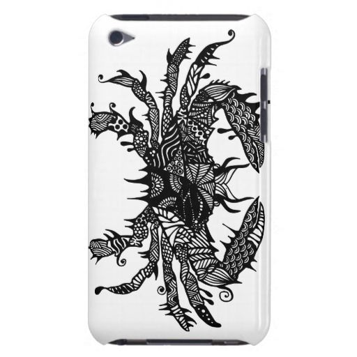 Crab #2 hand drawn art iPod case iPod Touch Case