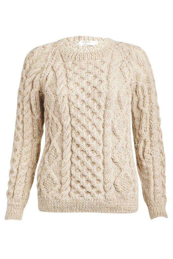 Roxie Classic Aran Knit Jumper