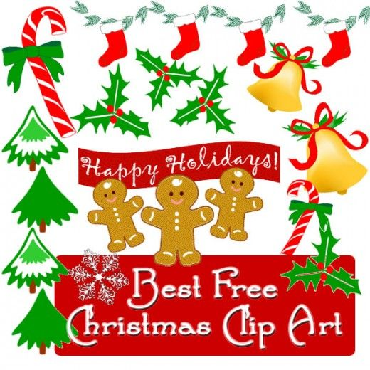 Best Free Christmas Clip Art and Borders