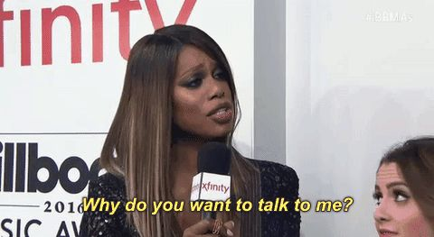New party member! Tags: bbmas 2016 laverne cox billboard music awards 2016 trans women why do you want to talk to me