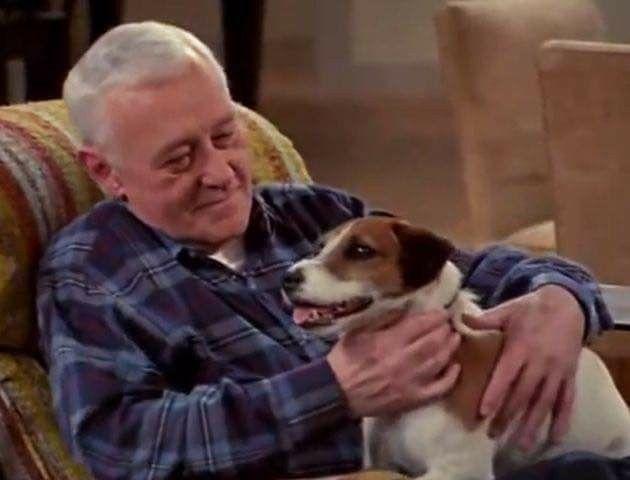Frasier--Martin & Eddie | Comic actor, John mahoney, Comedy tv
