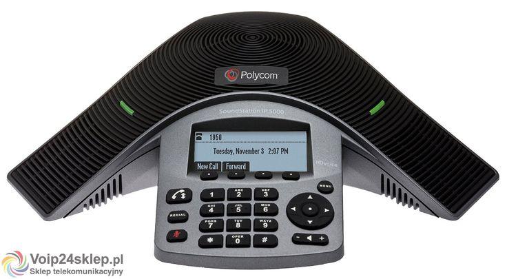 TELEFON KONFERENCYJNY POLYCOM SOUNDSTATION IP5000 POE
