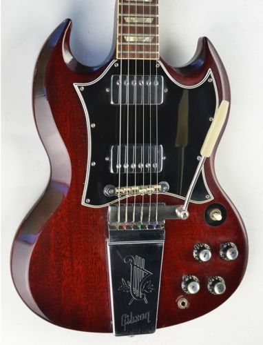 1966-1967 Vintage Gibson SG Standard~~HERITAGE CHERRY RED~~Guitar Les Paul 1960S
