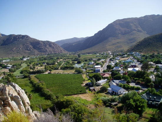 The village, Montagu, South Africa ~ good friends live here, formerly in Camp's Bay,Cape Town