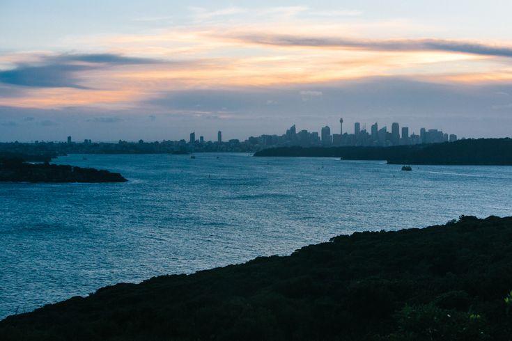 North Head Sydney sunset