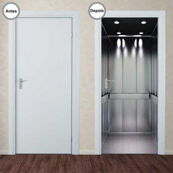 adesivo decorativo de portas