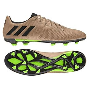 adidas Lionel Messi 16.3 TRX FG Soccer Shoes (Copper/Green): http://www.soccerevolution.com/store/products/ADI_10792_F.php