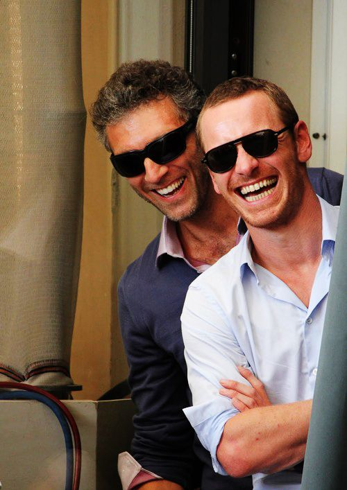 Michael Fassbender Vincent Cassel, oh that is too much hot