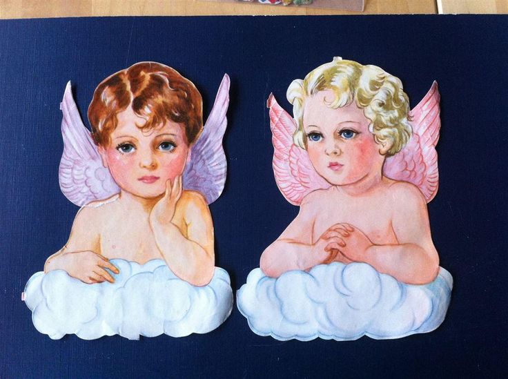 Äldre bokmärken stora änglar EO 5904 Maj Lindman