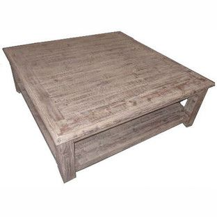 Driftwood Grey Cape Cod Coffee Table