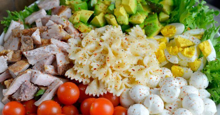 Kjempegod salat som du faktisk har lyst til å spise!