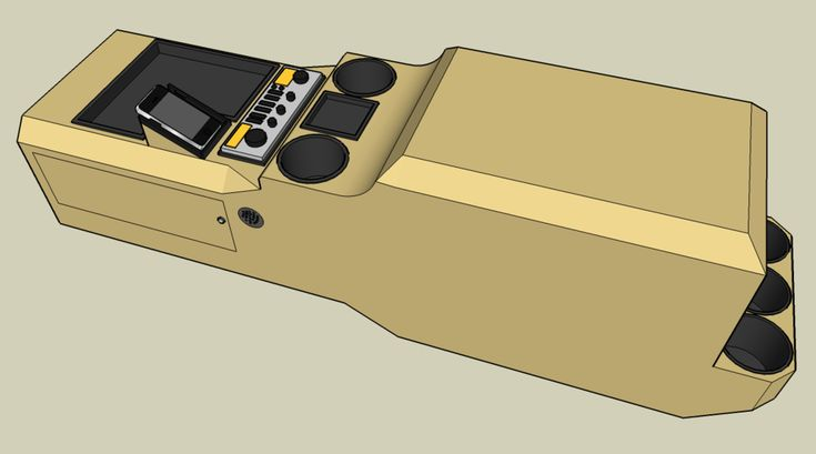 Going to make a custom center console for my truck