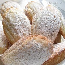 Odzkoušené Madlenky - Madeleines au beurre