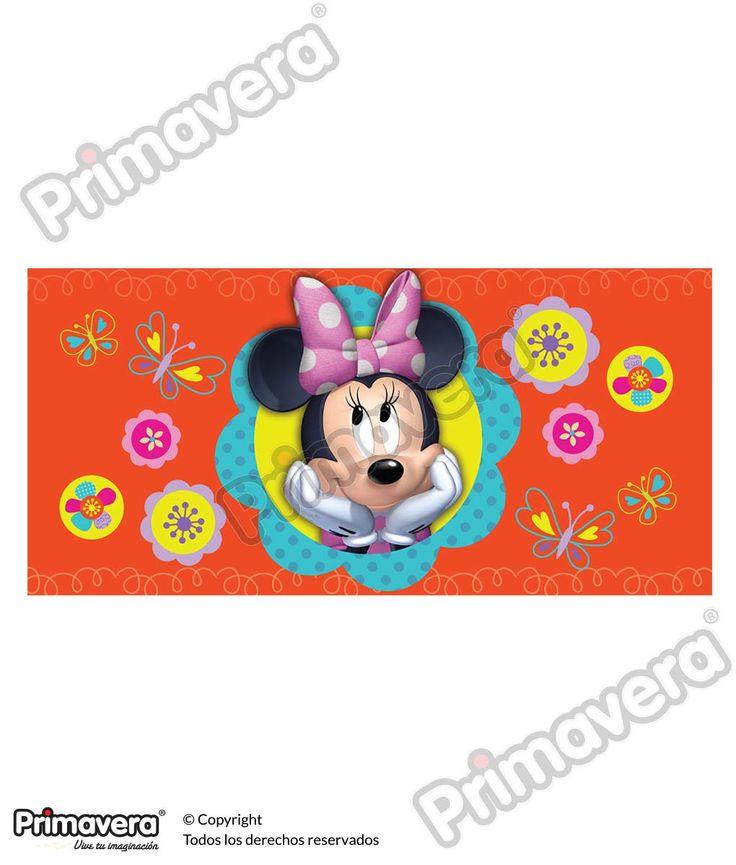 Lluvia de Sobres Minnie Mouse http://envoltura.papelesprimavera.com/product/sobre-personajes-nina-minnie-mouse-4/