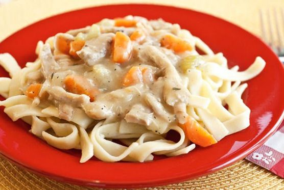 Creamy Chicken and Noodles – Camp Dinner Meal