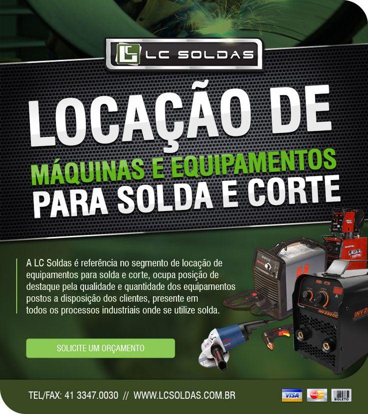 LC SOLDAS  SOLUÇÕES EM EQUIPAMENTOS E PRODUTOS PARA SOLDA