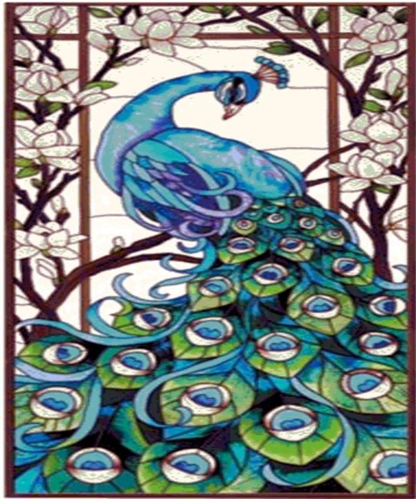 PeacockPeacocks Quilt Pattern, Posh Peacocks, Children Quilt