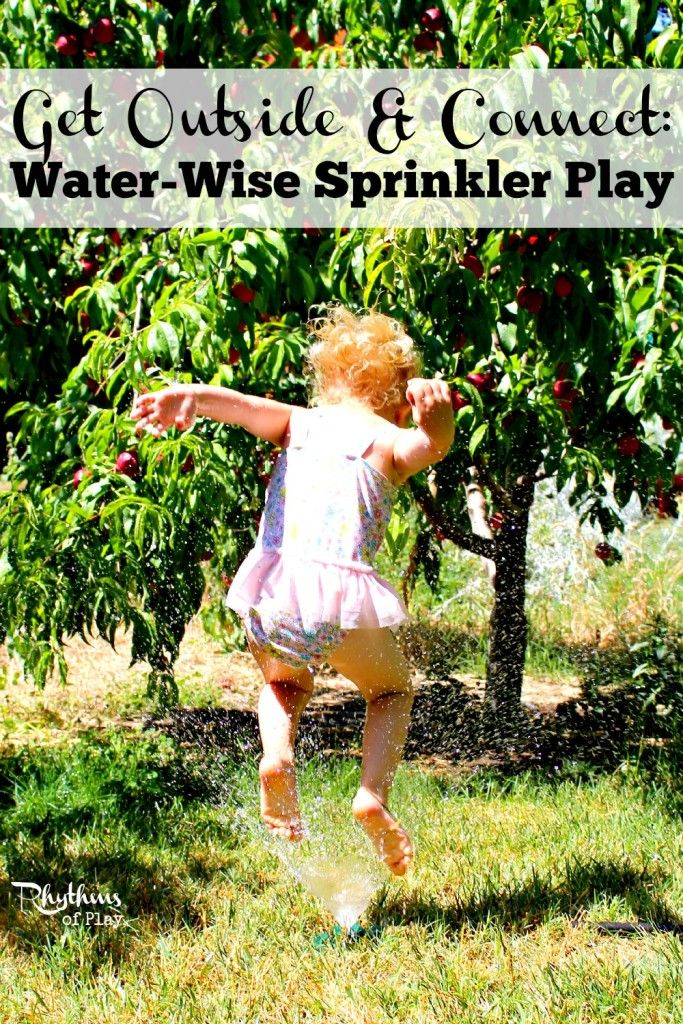 Check out these 5 tips for water-wise sprinkler play. With the deepening drought it's important to conserve water while still having fun in the sun! Be safe. Have fun. Be water-wise.