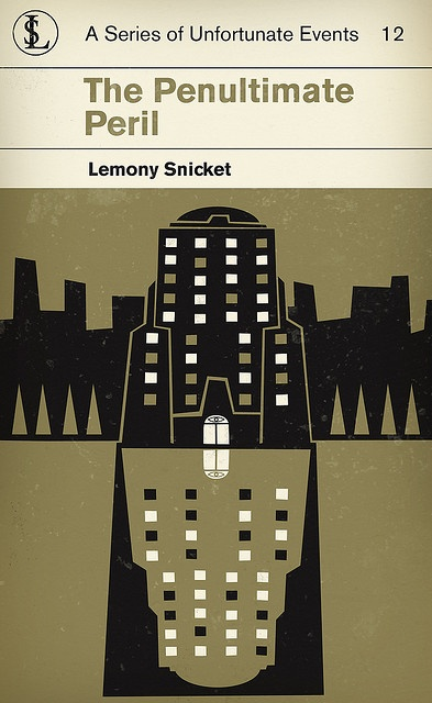 Lemony Snicket's A Series of Unfortunate Events 12: The Penultimate Peril (by corleyms on flickr)