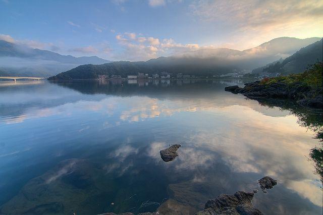 Kawaguchiko Mystical Morning by Beta Photography, via Flickr