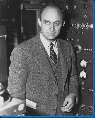 Enrico Fermi Photo Mug Gourmet Tea Gift Basket