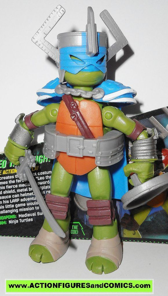 teenage mutant ninja turtles LEONARDO Leo the knight Nickelodeon playmates toys tmnt