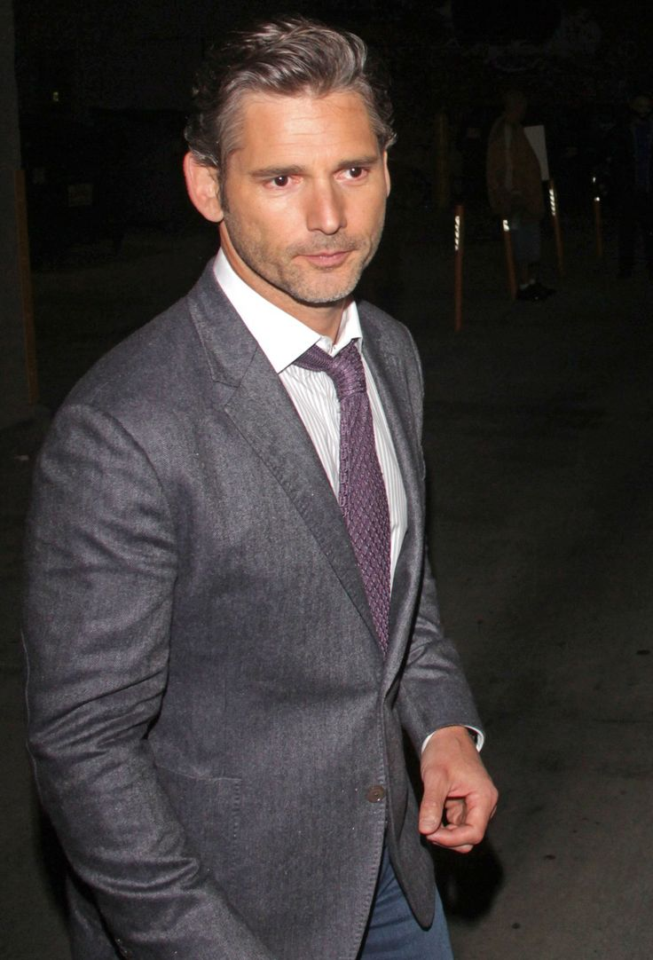 Eric Bana, 44, is letting his grey come in: would you hit it, always & forever?