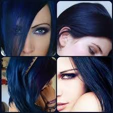 Resultado de imagen de pelo negro azulado blog
