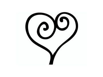 Pečiatka - srdce
