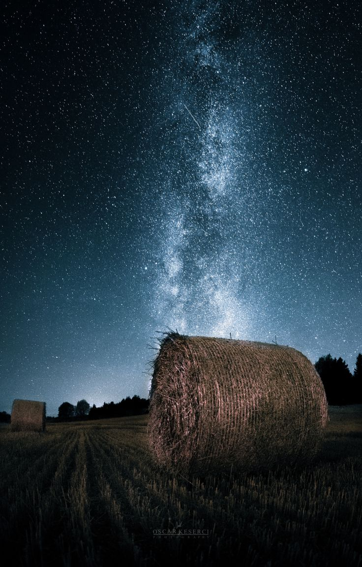 """One more night out searching for the milky way..Image was taken in Kemio,Finland as I was driving around there,trying to find a good spot.For this image I took 3 horizontal images,with the same settings,and merged them to a panorama.Hope you like it!   Feel free to check my  <a href=""""http://on.fb.me/1QRPKqq"""">Facebook</a>"""